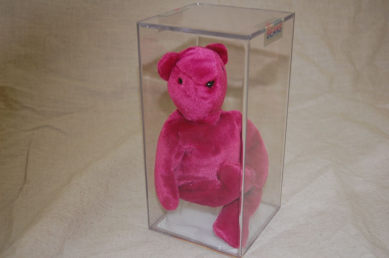 fe462ec96a0 Teddy Old Face Magenta Authenticated Beanie Babies Price Guide ...